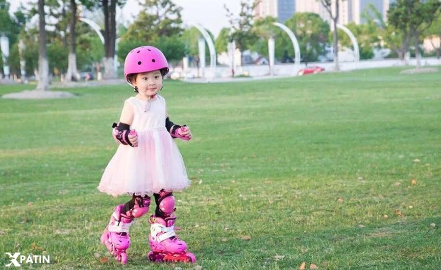 Trẻ sử dụng giày Patin S5S