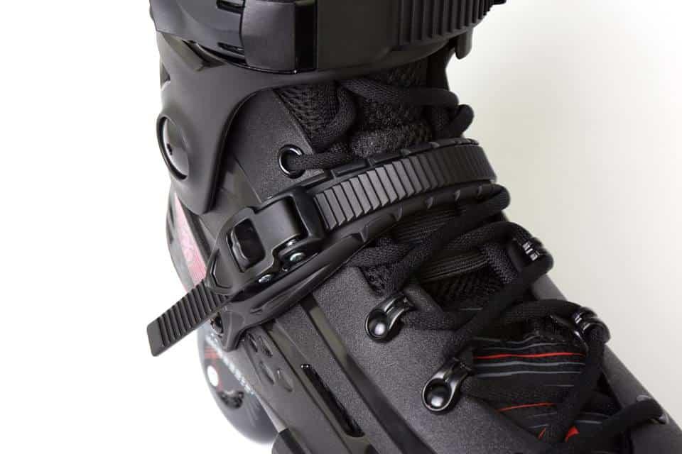 Giày Patin Flying Eagle F4 Raven | Khóa bán tự động milimetric hỗ trợ xiết ôm chân
