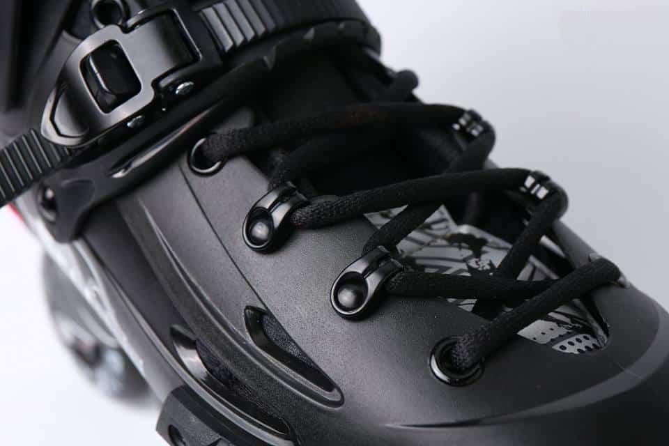 Giày Patin Flying Eagle F5S | Dây buộc thân giày hỗ trợ buộc ôm bàn chân