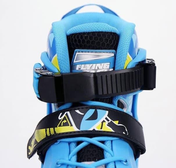 Giày Patin Flying Eagle NT Combo | Khóa cổ giày nhựa đóng chắc chắn, khóa thân giày dây dán tiện lợi