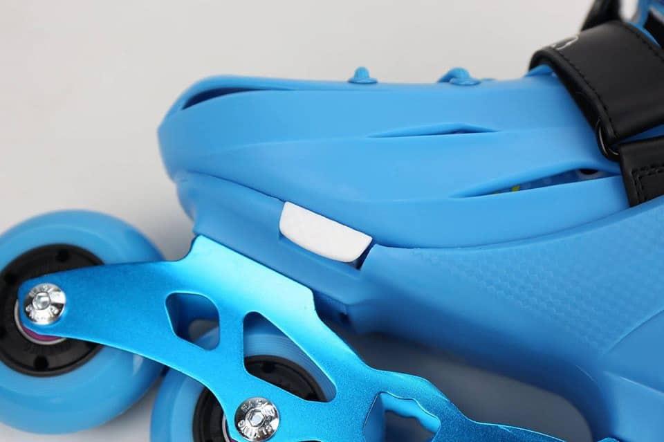 Giày Patin Flying Eagle NT Combo | Nút chỉnh size dễ dàng chỉ cần ấn 'PUSH' và kéo