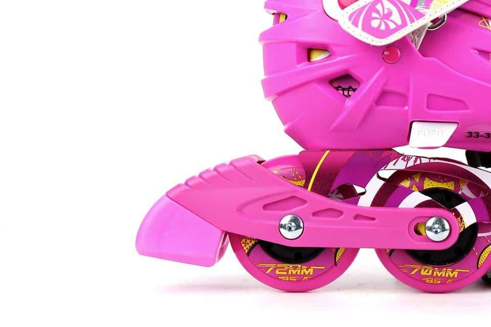Giày Patin Flying Eagle S5S | Gôm hãm (thắng) phanh ở chiếc giày phải