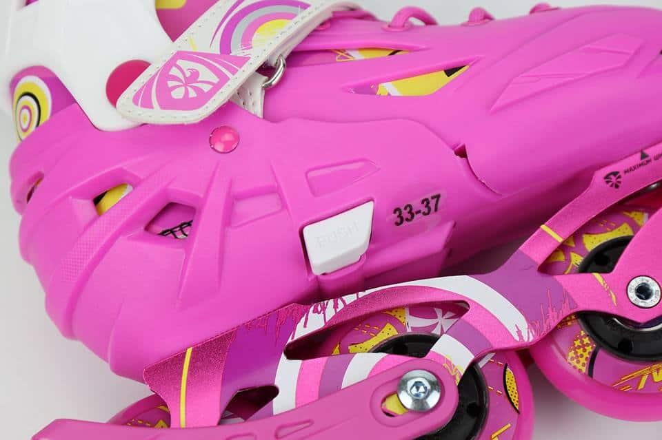 Giày Patin Flying Eagle S5S | Chỉnh size dễ dàng chỉ với thao tác ấn 'push và kéo'