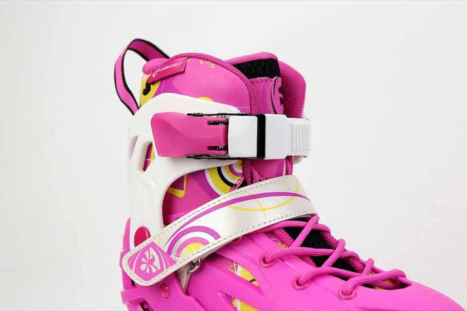 Giày Patin Flying Eagle S5S | Khóa cổ giày nhựa chắc chắn, khóa thân giày dễ thao tác