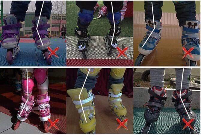 Giày Patin kém chất lượng tác động trực tiếp lên cổ chân và mắt cá chân
