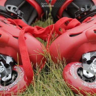 Giày Patin Micro MT Plus | Bánh xe cao su chất lượng cao êm khi trượt