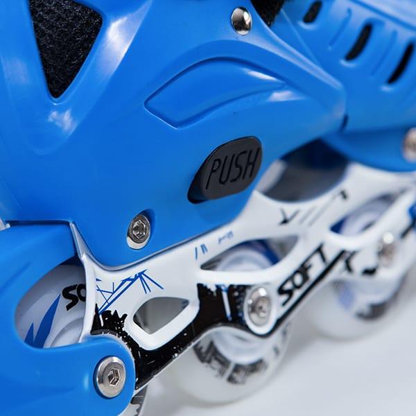 Giày Patin SOFT A1 | Chỉnh size dễ dàng chỉ với thao tác ấn PUSH và kéo