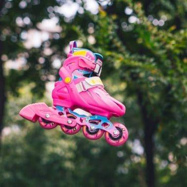 Giày trượt Patin Flying Eagle NT Combo màu hồng Xpatin1