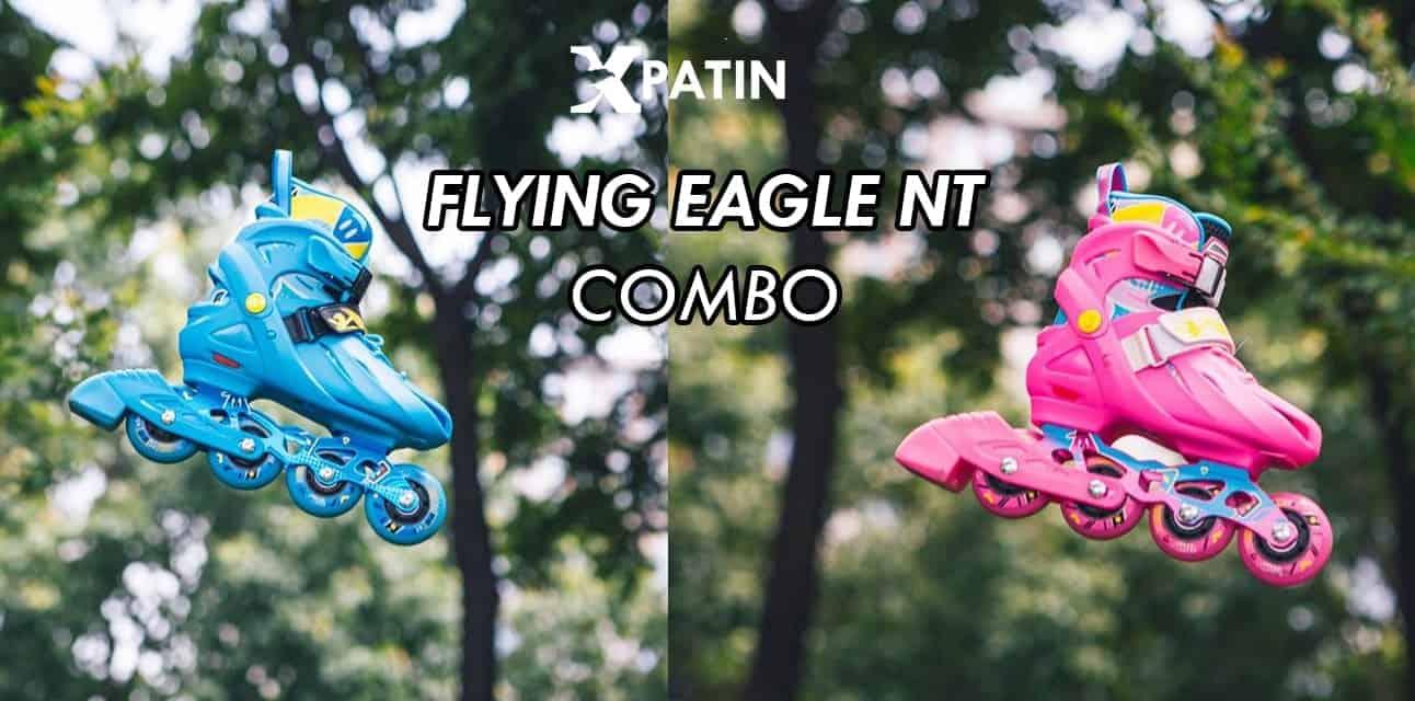 Hình ảnh giày Patin Flying Eagle NT Combo 2 màu
