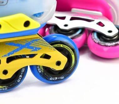 Giày Patin Micro LE | Khung nhôm CNC Series 6000, bánh xe cao su chất lượng cao