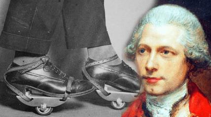 John Joseph Merlin – người sáng chế ra giày Patin (Hình ảnh: Internet)