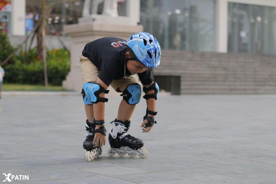 Luôn chú ý đến vấn đề an toàn khi trượt Patin