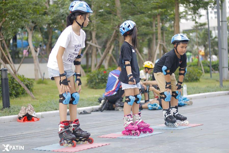 Một vài lưu ý cho người mới bắt đầu trượt patin