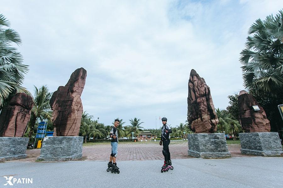 Trượt Patin chinh phục dốc tại khu du lịch Bãi Lữ Nghệ An ảnh 2