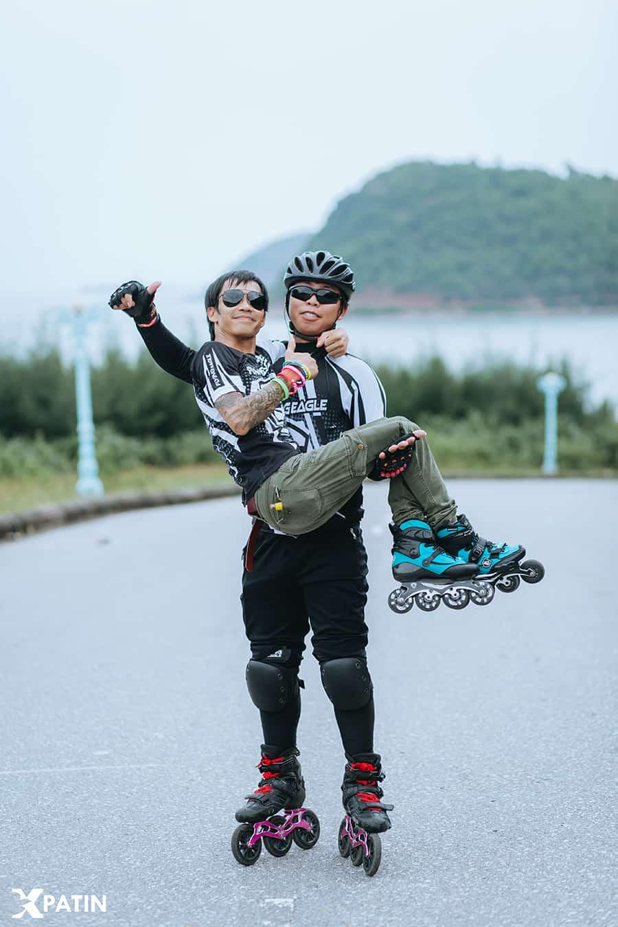Trượt Patin chinh phục dốc tại khu du lịch Bãi Lữ Nghệ An ảnh 3