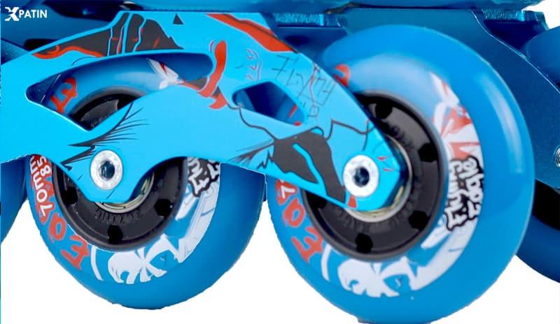 Giày Patin Flying Eagle S5S+ | Bánh xe cao su đàn hồi ổn định khi trượt