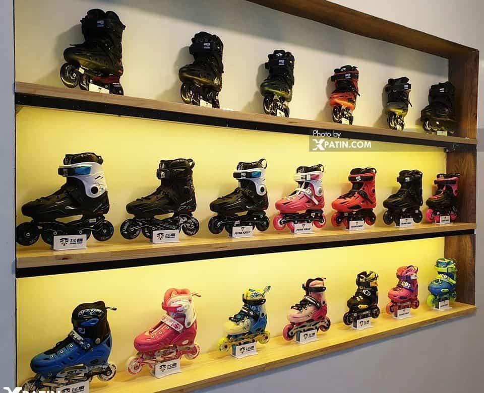 Địa chỉ cửa hàng bán giày Patin chính hãng ở Hà Nội