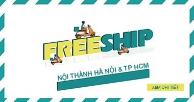 Freeship nội thành Hà Nội & TP HCM