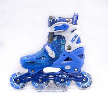Giày Patin iSkate ICHI màu xanh