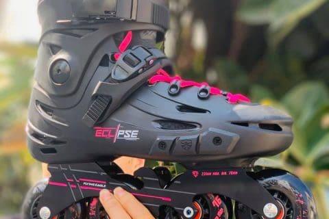 Giày Patin Flying Eagle F5s+ màu hồng