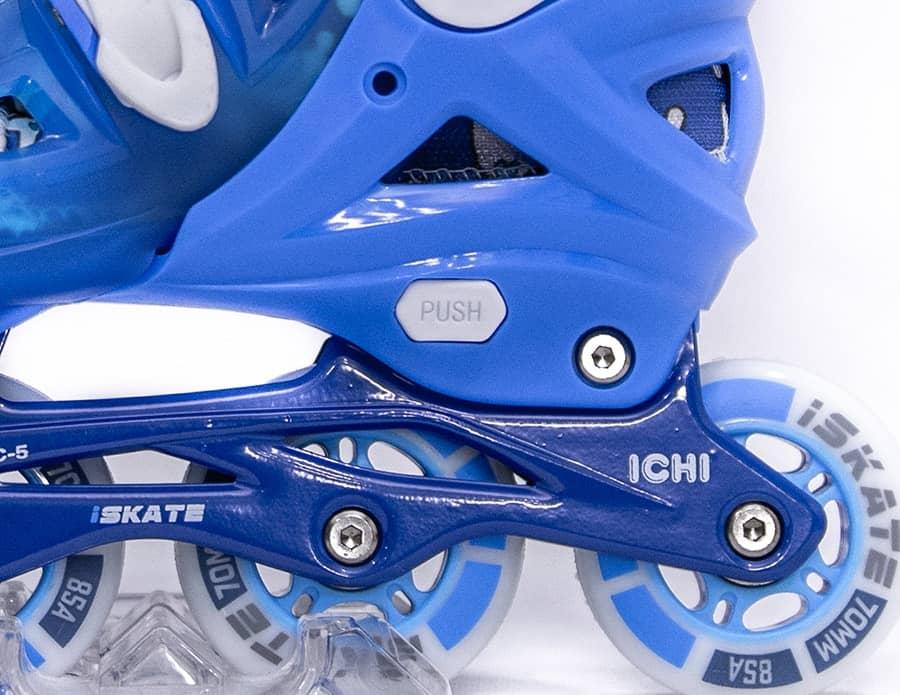 Giày Patin iSkate ICHI | Frame chất liệu hợp kim nhôm Aluminum