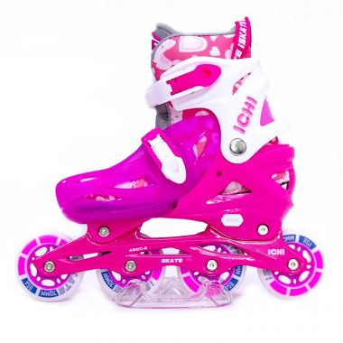 Giày Patin trẻ em iSkate ICHI màu hồng