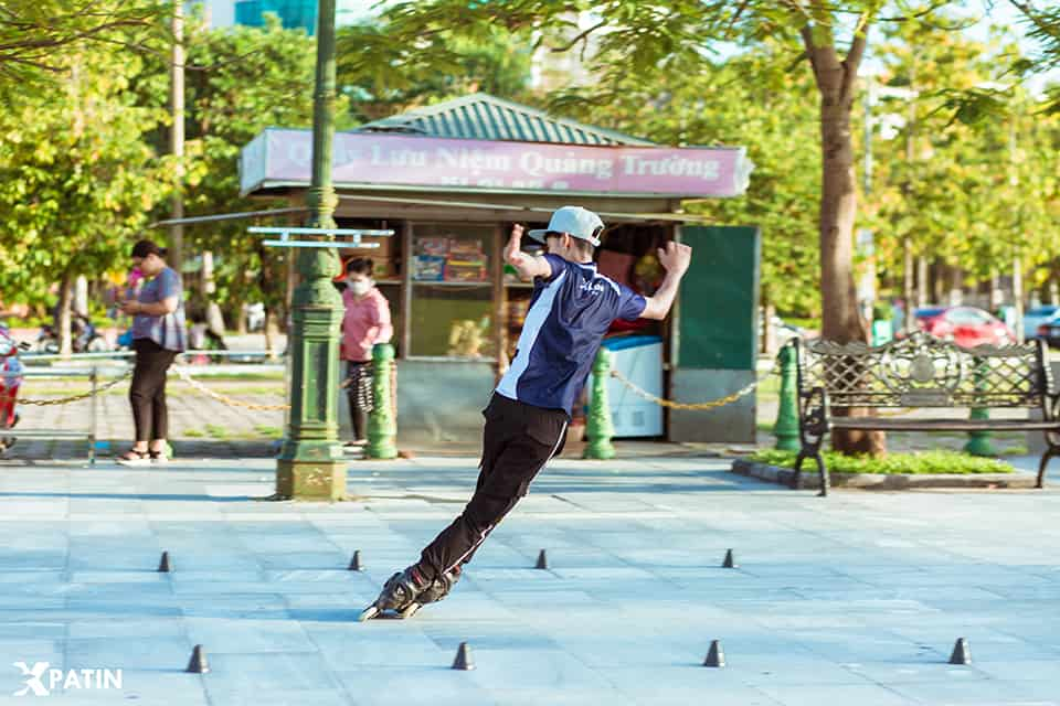 Giày trượt Patin 1 hàng bánh dọc phong phú thể loại chơi