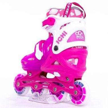 Giày Trượt Patin iSkate ICHI màu hồng Xpatin1