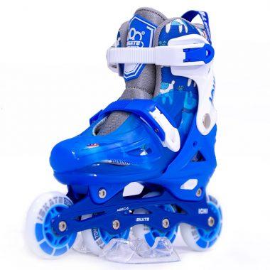 Giày Trượt Patin iSkate ICHI màu xanh Xpatin1