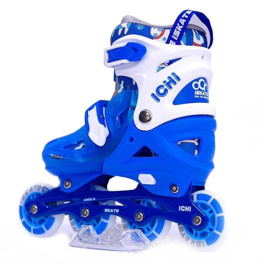 Giày Trượt Patin iSkate ICHI màu xanh Xpatin2