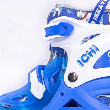 Giày Trượt Patin iSkate ICHI màu xanh Xpatin5
