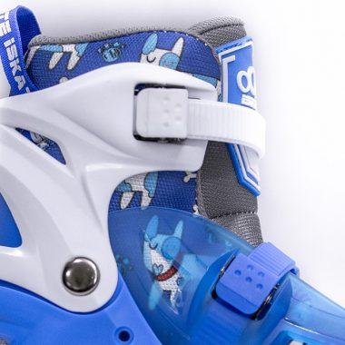 Giày Trượt Patin iSkate ICHI màu xanh Xpatin6