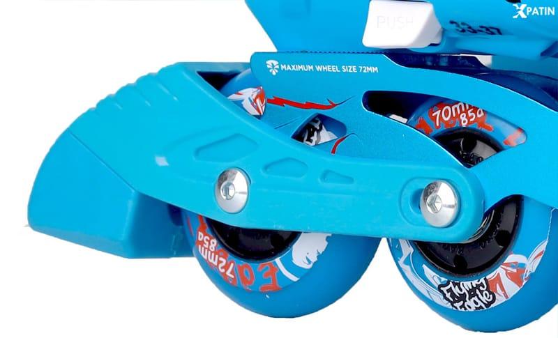 Giày Patin Flying Eagle S5S+ | Gôm hãm phanh an toàn có ở chiếc giày phải