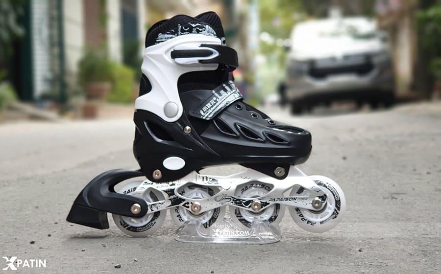 Hình ảnh giày trượt patin Papaison màu đen