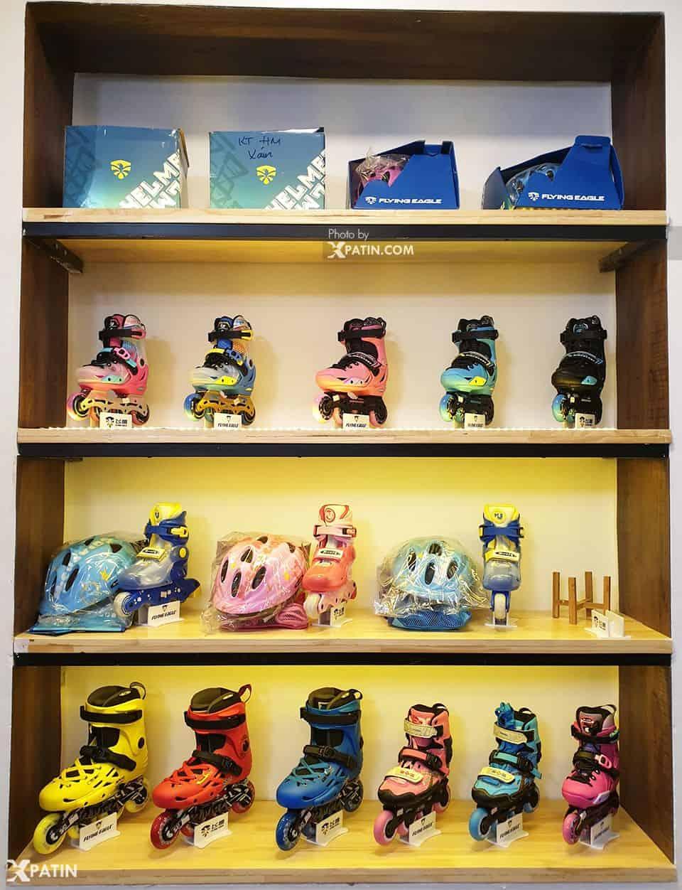 Một số mẫu giày Patin cao cấp tại cửa hàng