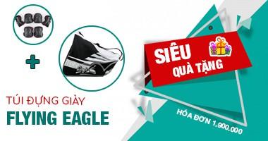Tặng thêm túi đựng giày Flying Eagle trị giá 250k