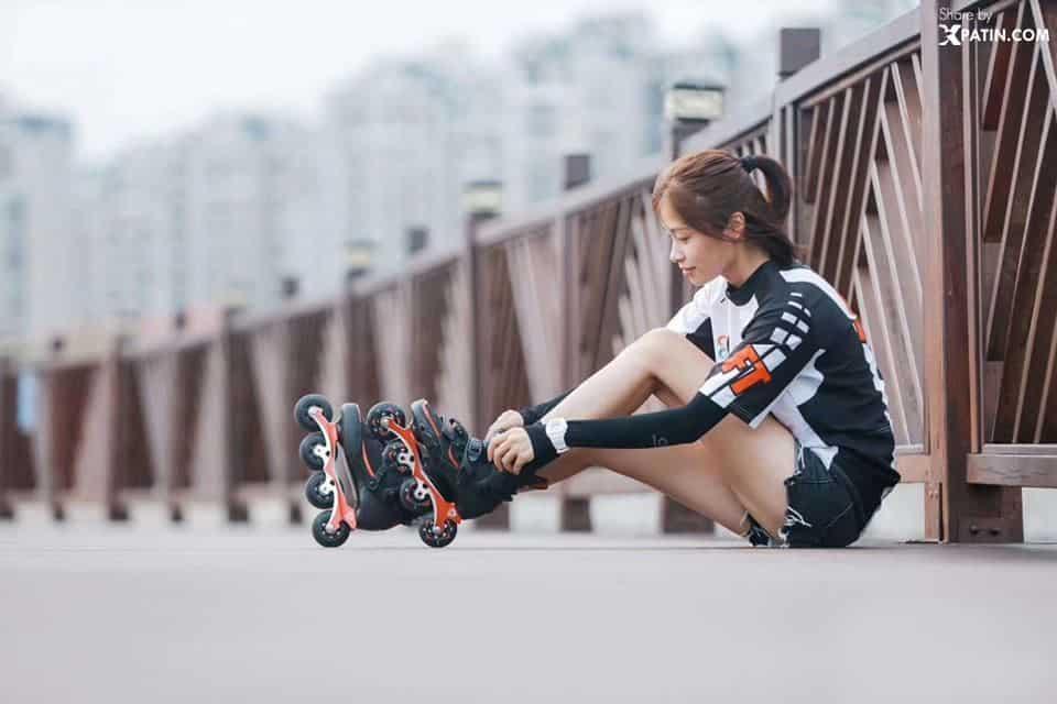 Giảm cân với môn trượt Patin
