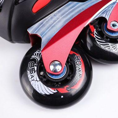 Giày patin Flying Eagle F7 Optimum 2020 | Bánh xe độ cứng tốt đàn hồi êm khi lăn