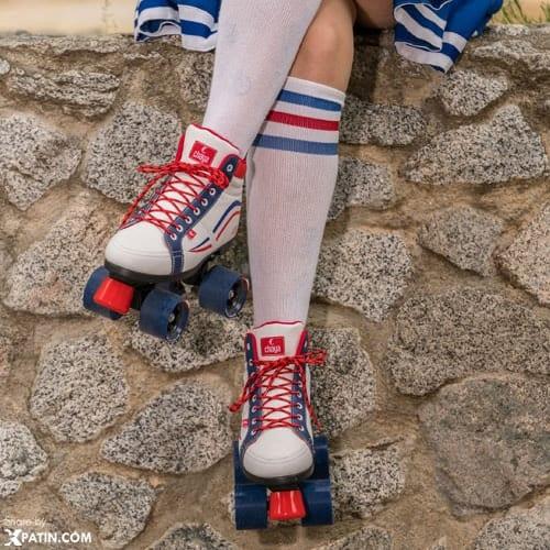Giày trượt patin 2 hàng bánh