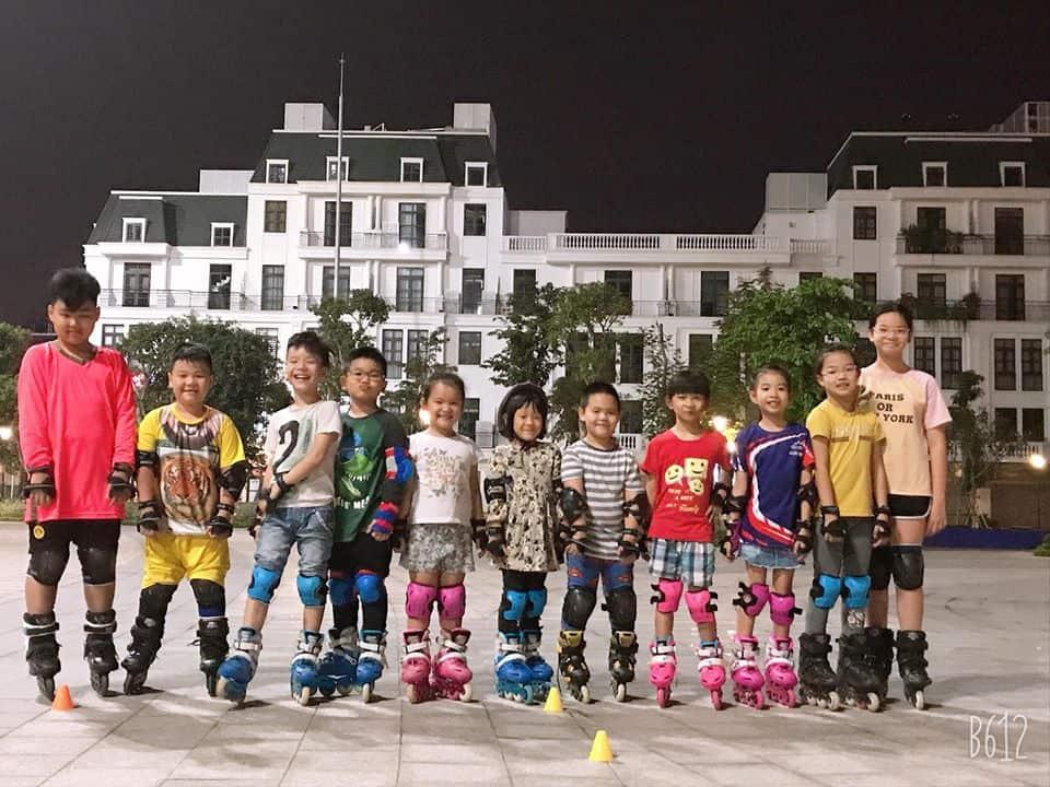 Học viên tại lớp patin GOX Academy Hải Phòng