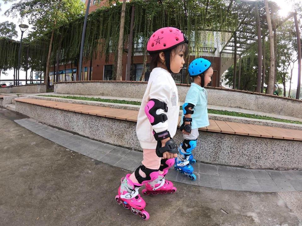 Thiết kế giày trượt patin trẻ em