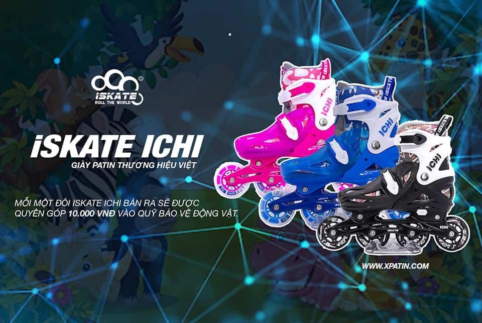 iSkate iChi thương hiệu giày Patin Việt