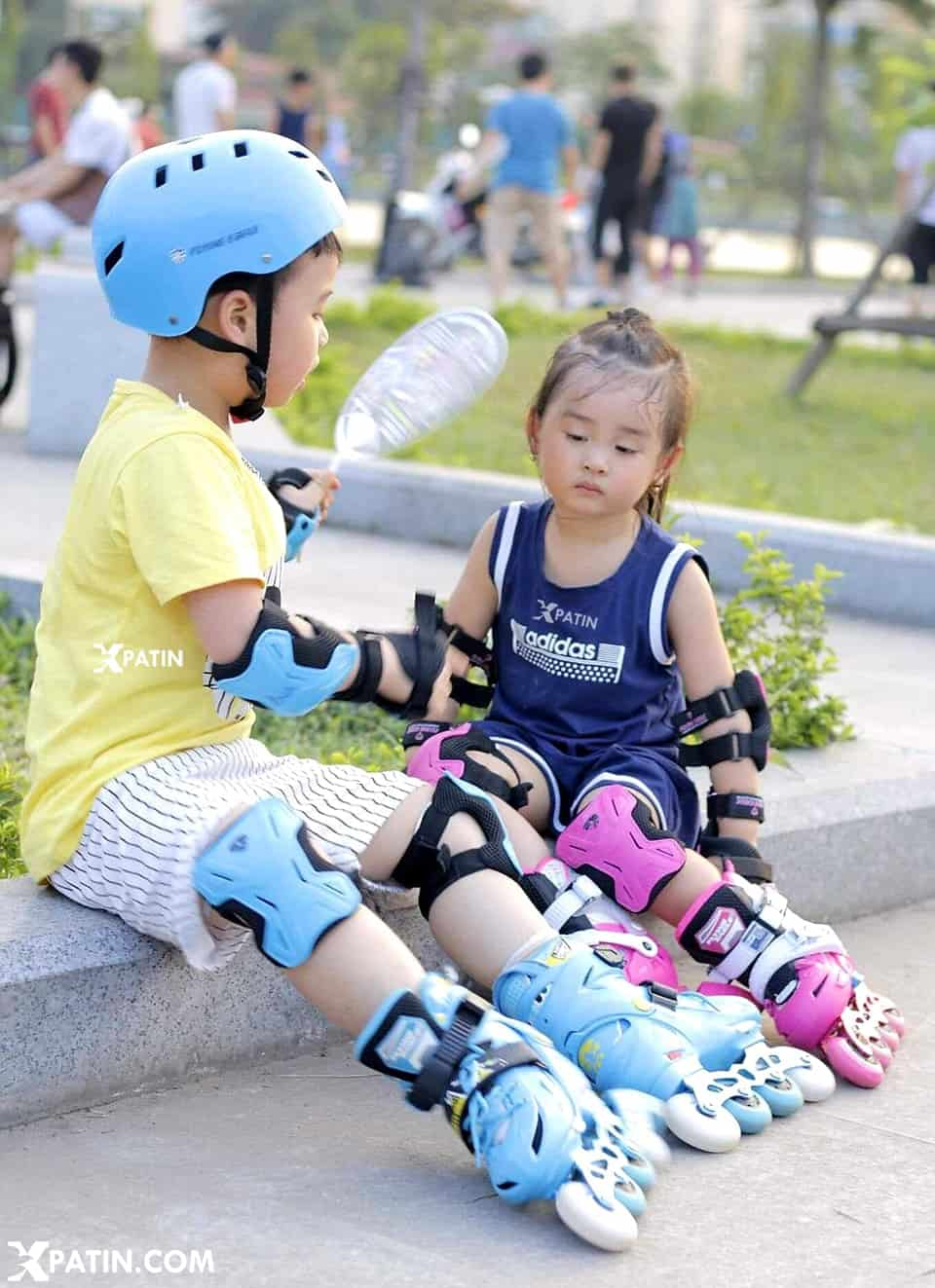 Những đôi giày trượt patin trẻ em có thể chỉnh được size