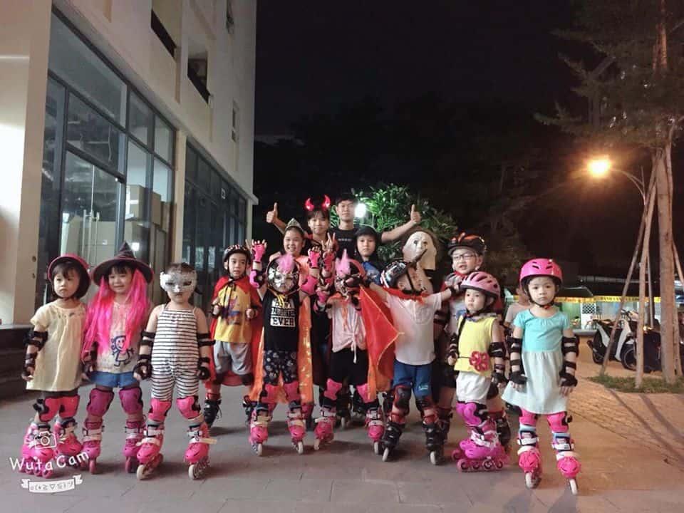 Phong trào trượt patin trẻ em tại TPHCM