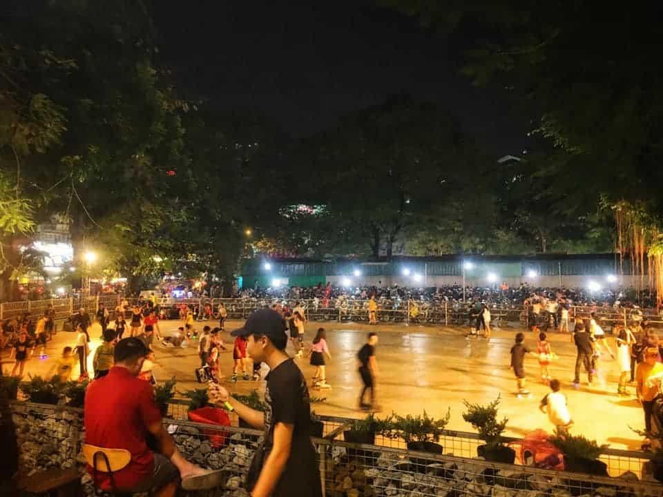 Sân trượt Patin Công viên Lê Thị Riêng