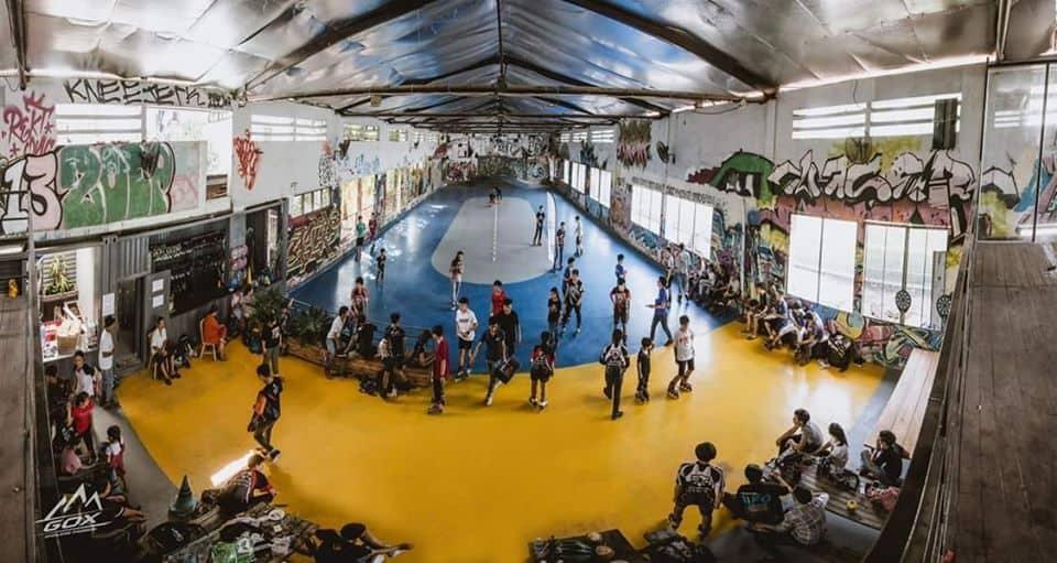 Sân trượt Patin Passior