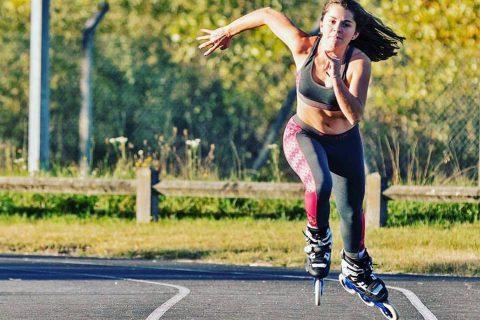 Trượt Patin giúp giảm mỡ bụng