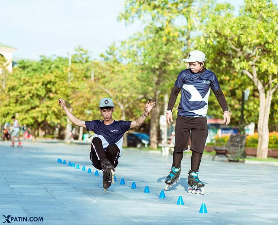 Trượt Patin tên gọi quốc tế là inline skating hoặc roller sports