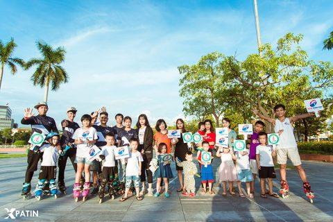 Khoá học trượt Patin cho trẻ tại Mầm Non Montessori Vinh