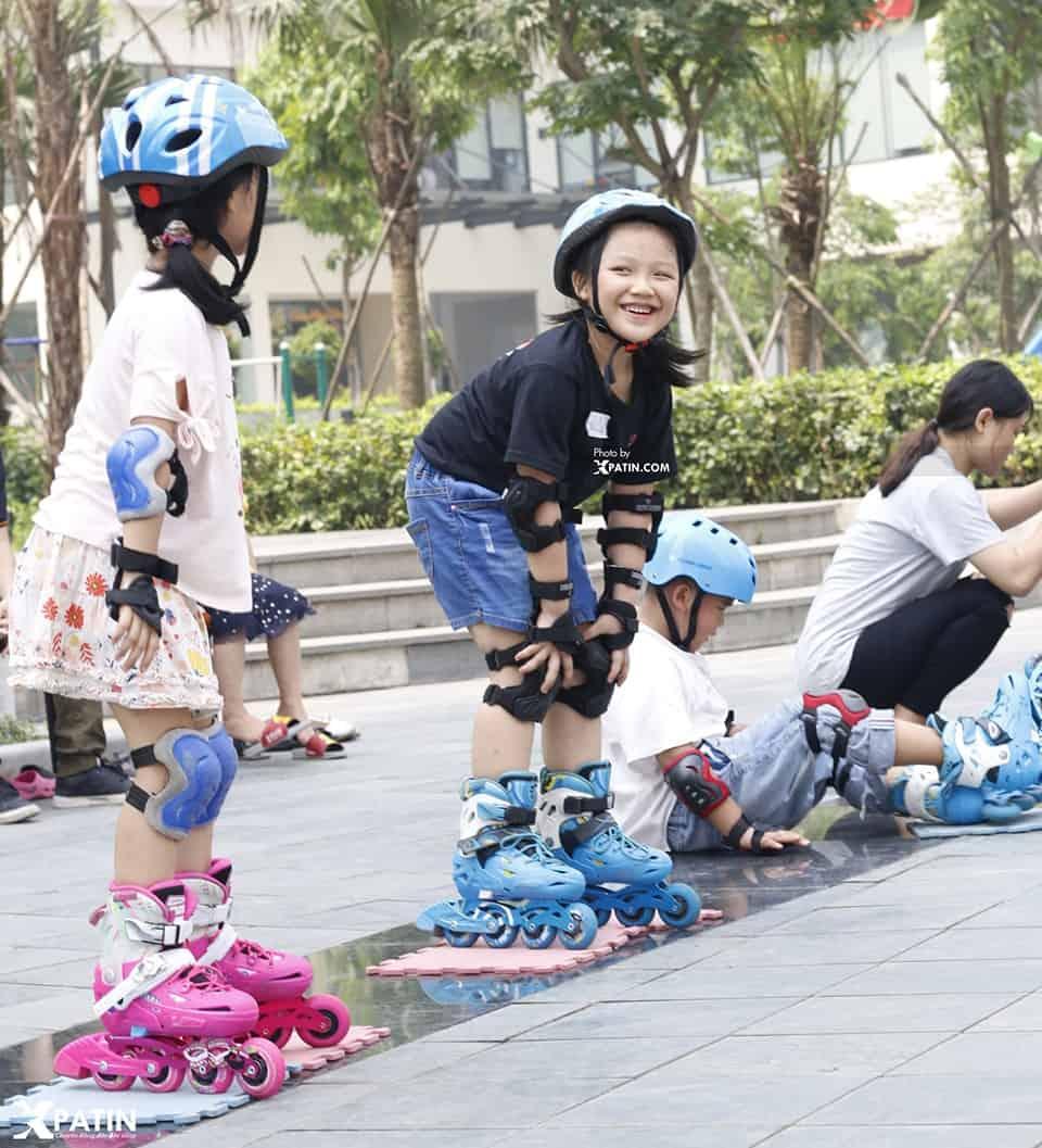Trượt Patin giúp trẻ tăng tương tác xã hội